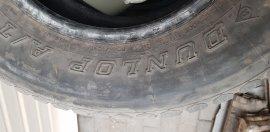 Продам резину Dunlop 265\70\R17, 1500 с за баллон