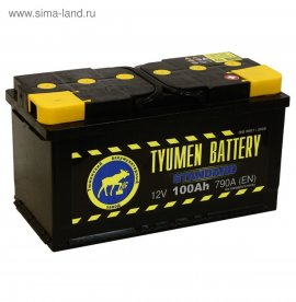 Продаю аккумулятор Тюмень Standard 6СТ-100L 100Ah